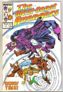 West Coast Avengers #19 comic book near mint 9.4