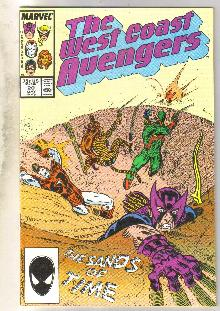West Coast Avengers #20 comic book mint 9.8