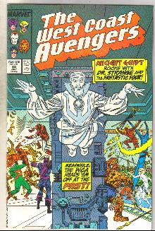 West Coast Avengers #22 comic book near mint 9.4