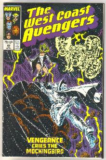 West Coast Avengers #23 comic book mint 9.8