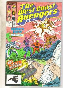 West Coast Avengers #31 comic book near mint 9.4
