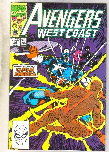 West Coast Avengers #64 comic book mint 9.8