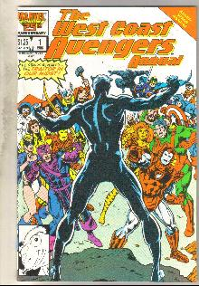 West Coast Avengers annual #1 comic book mint 9.8