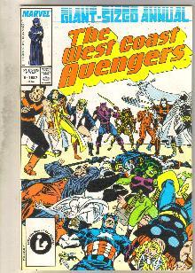 West Coast Avengers annual #2 comic book mint 9.8
