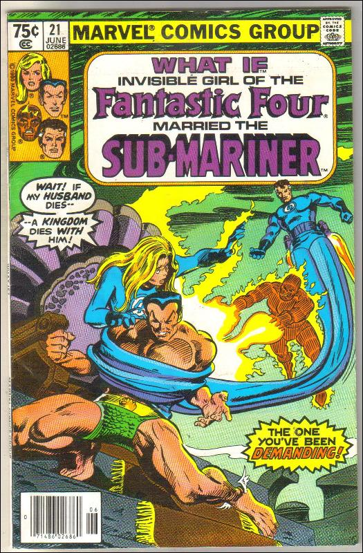 What If volume 1 #21 comic book near mint 9.4