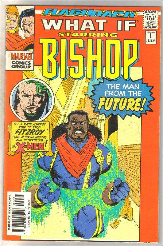What If Flashback issue -1 comic book near mint 9.4