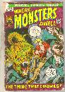 Where Monsters Dwell #13 comic book good plus 2.5