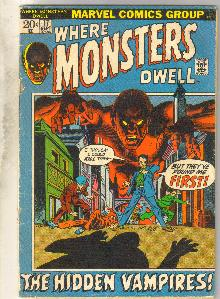 Where Monsters Dwell #17 comic book good plus 2.5