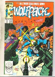 Wolfpack #1 comic book near mint 9.4