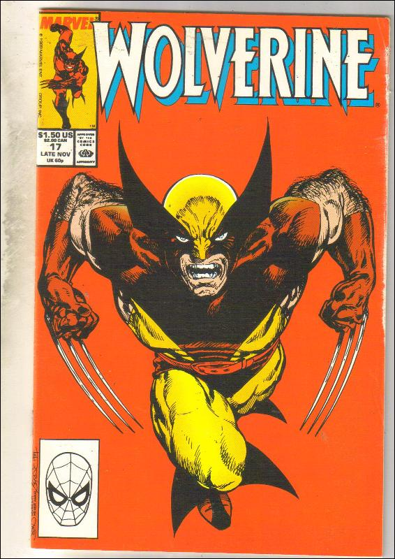 Wolverine #17 comic book very fine 8.0
