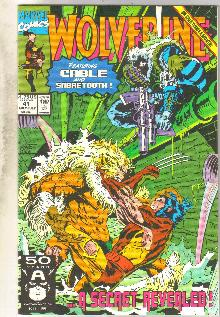 Wolverine #41 comic book mint 9.8