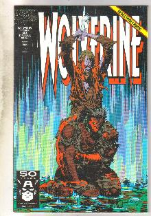 Wolverine #43 comic book near mint 9.4
