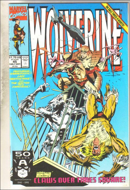 Wolverine #45 comic book mint 9.8