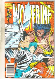 Wolverine #56 comic book near mint 9.4