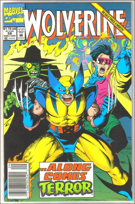 Wolverine #58 comic book near mint 9.4