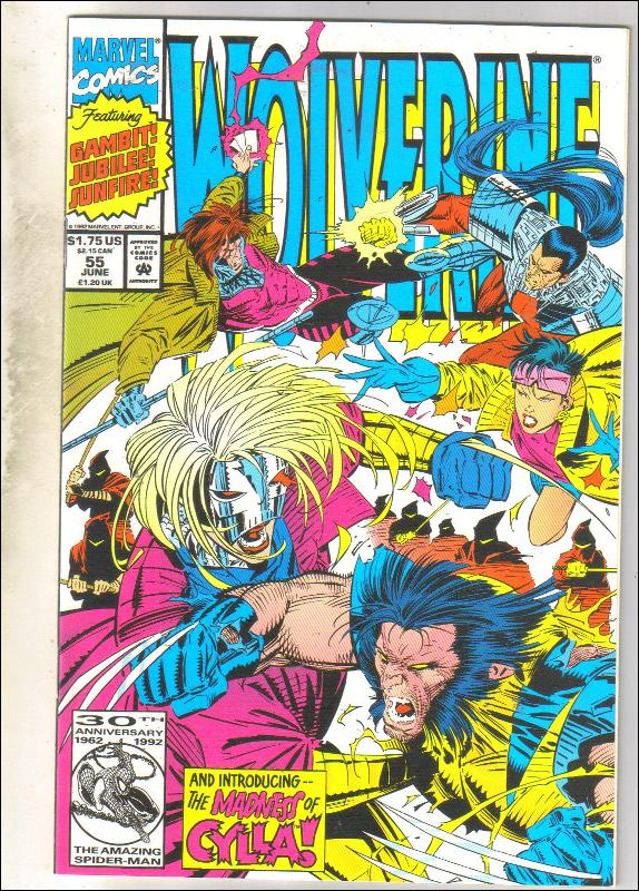 Wolverine #55 comic book mint 9.8