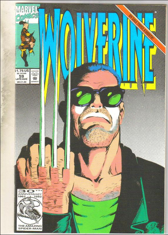 Wolverine #59 comic book near mint 9.4