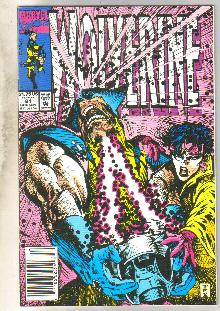 Wolverine #61 comic book near mint 9.4