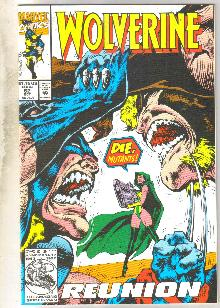 Wolverine #62 comic book near mint 9.4
