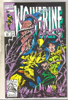 Wolverine #63 comic book near mint 9.4