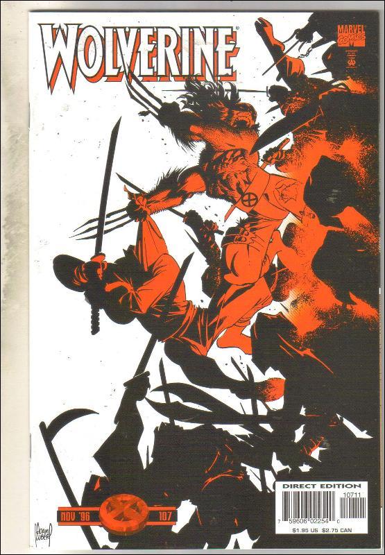 Wolverine #107 comic book mint 9.8