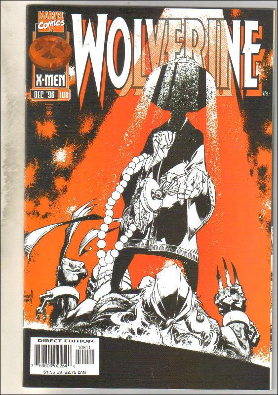Wolverine #108 comic book near mint 9.4
