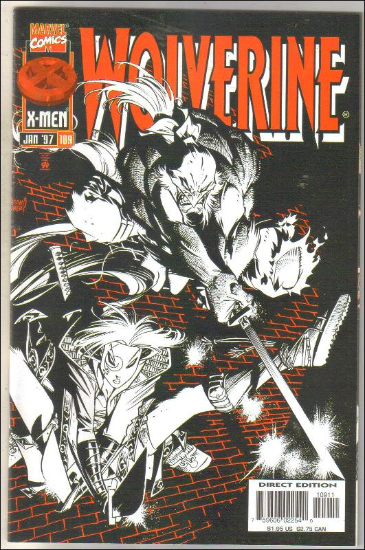 Wolverine #109 comic book near mint 9.4