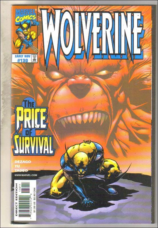 Wolverine #130 comic book near mint 9.4