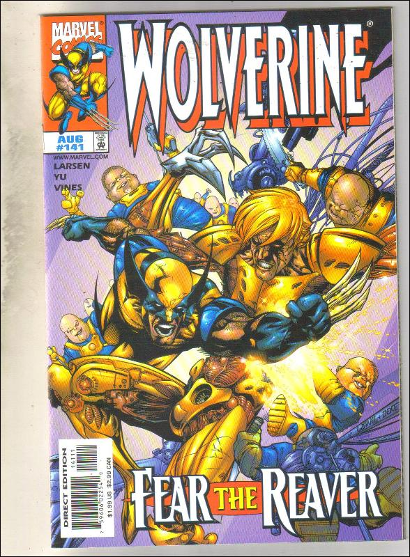 Wolverine #141 comic book mint 9.8
