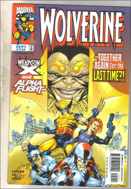 Wolverine #142 comic book near mint 9.4