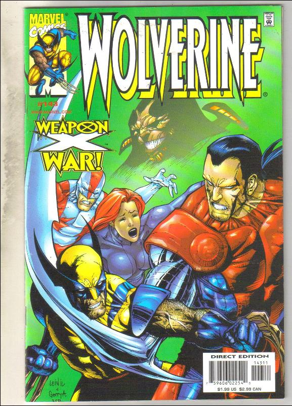 Wolverine #143 comic book near mint 9.4
