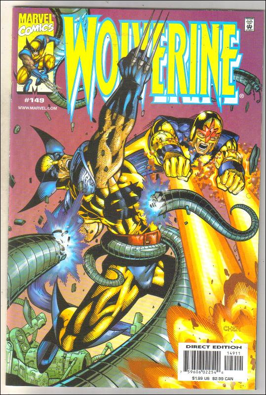 Wolverine #149 comic book mint 9.8