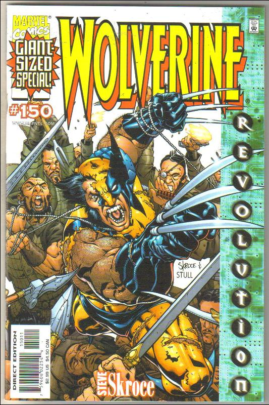 Wolverine #150 comic book near mint 9.4