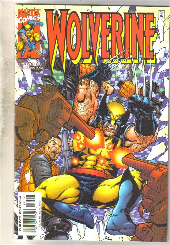 Wolverine #151 comic book near mint 9.4