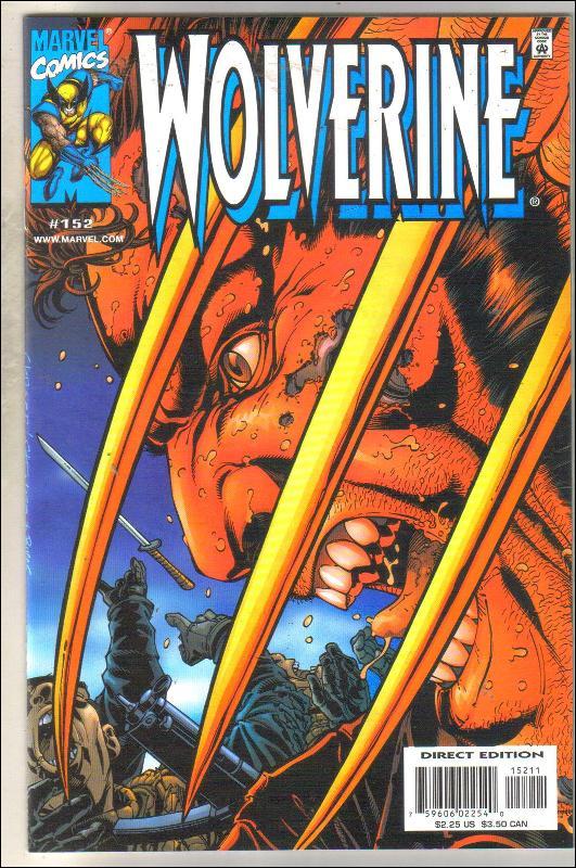 Wolverine #152 comic book mint 9.8