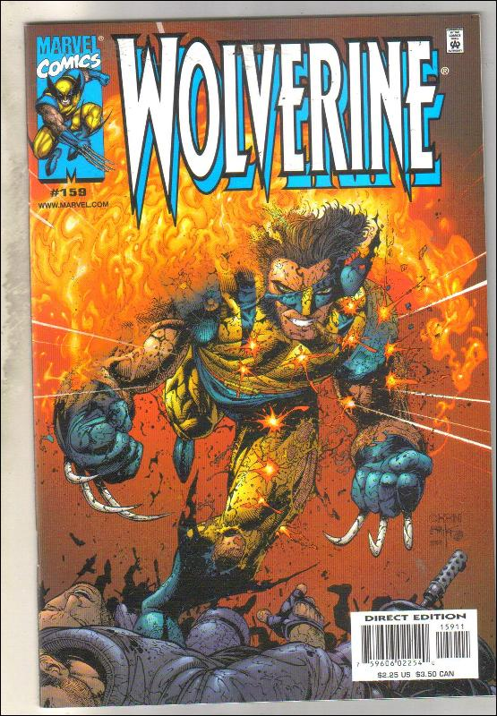 Wolverine #159 comic book mint 9.8