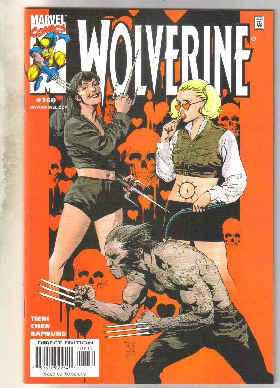 Wolverine #160 comic book near mint 9.4