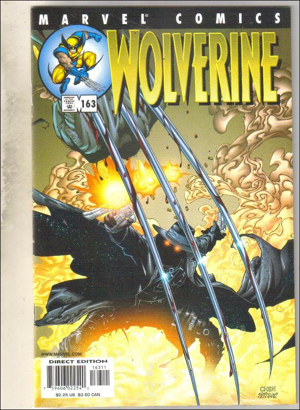 Wolverine #163 comic book near mint 9.4