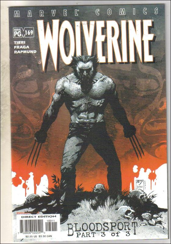 Wolverine #169 comic book near mint 9.4