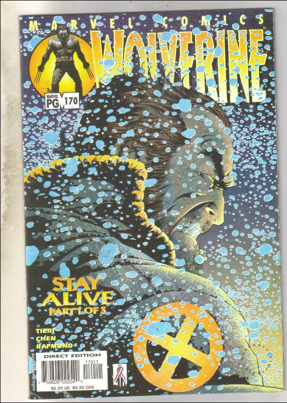 Wolverine #170 comic book near mint 9.4
