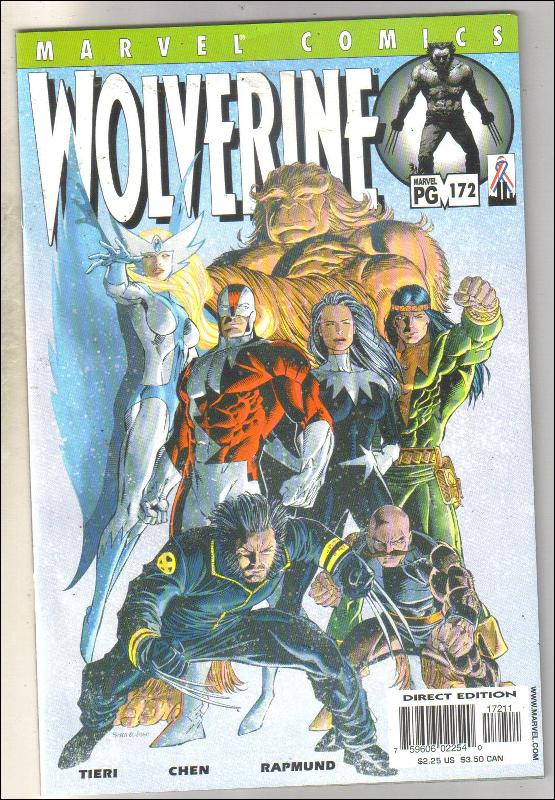 Wolverine #172 comic book near mint 9.4