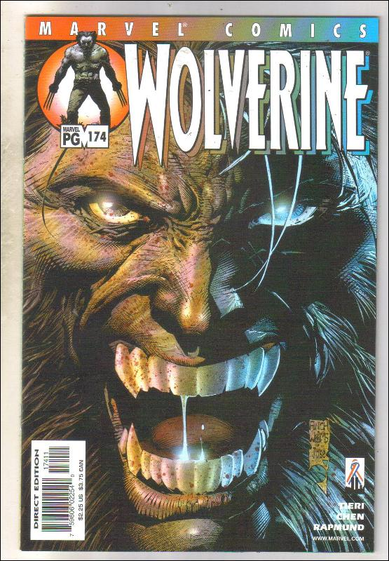 Wolverine #174 comic book near mint 9.4