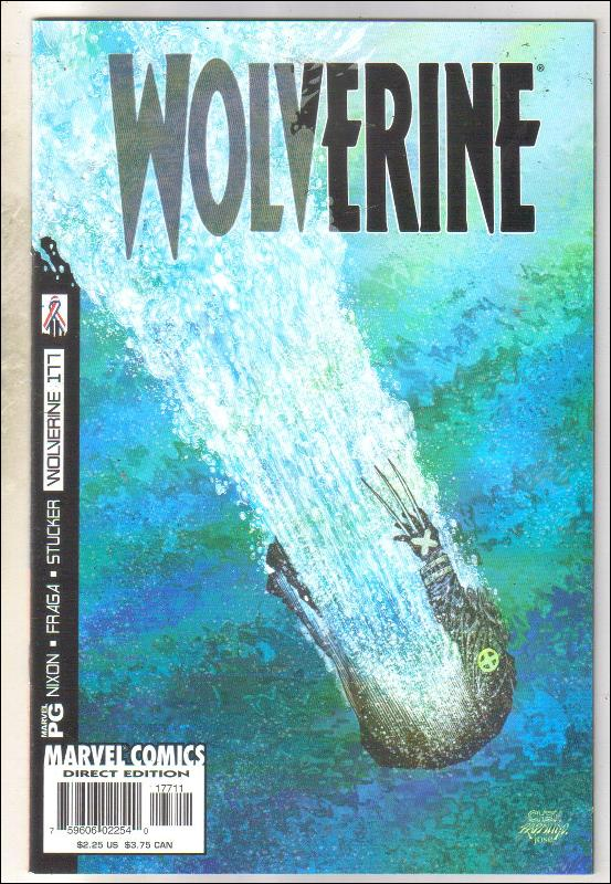 Wolverine #177 comic book mint 9.8