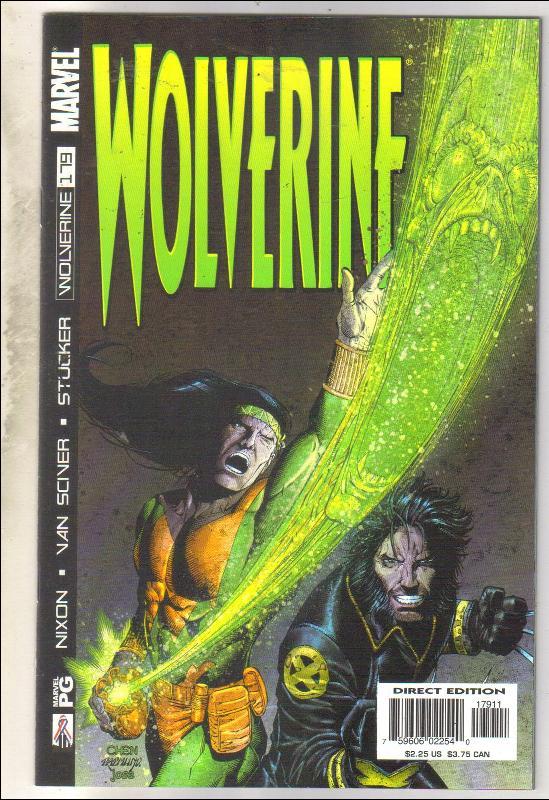 Wolverine #179 comic book near mint 9.4