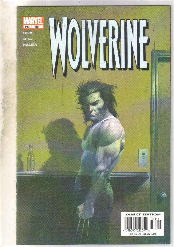 Wolverine #181 comic book near mint 9.4