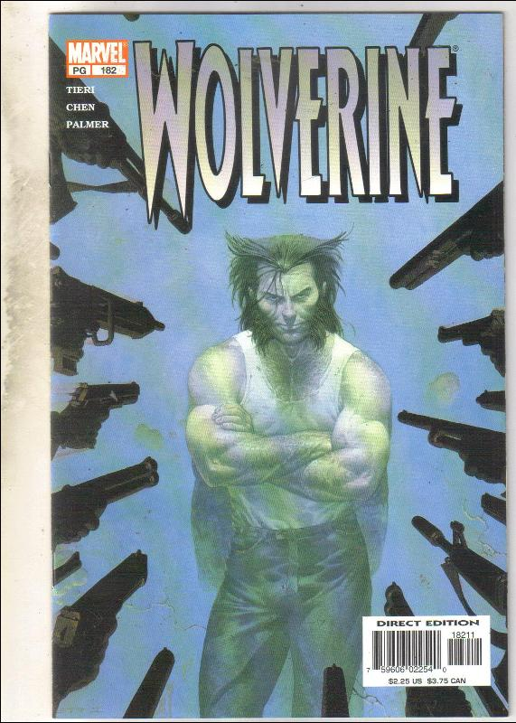 Wolverine #182 comic book near mint 9.4