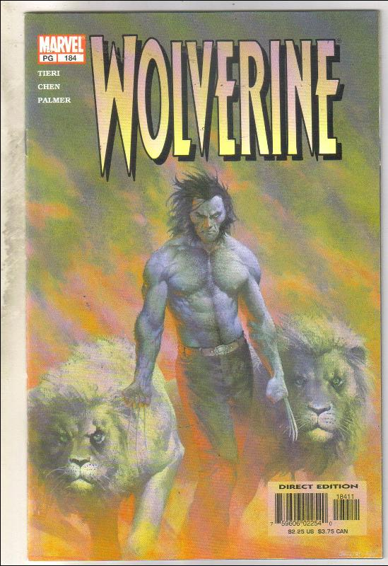 Wolverine #184 comic book near mint 9.4