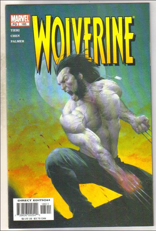 Wolverine #185 comic book mint 9.8