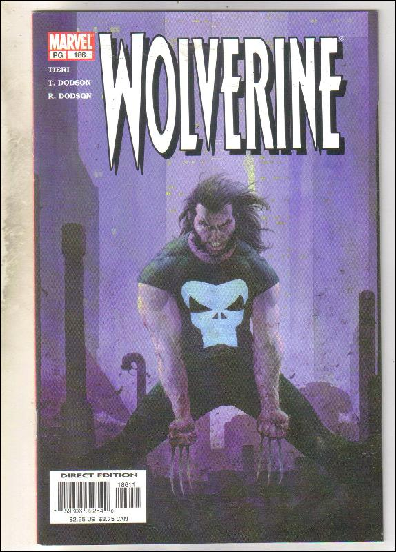 Wolverine #186 comic book mint 9.8
