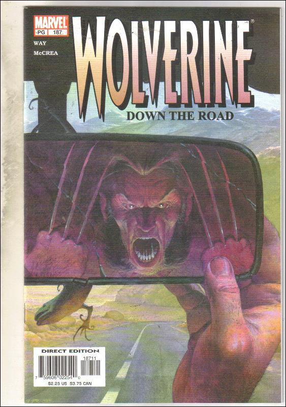 Wolverine #187 comic book near mint 9.4